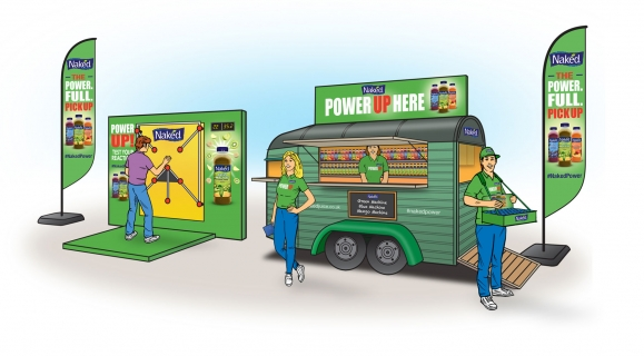 Naked Juice - Power-Full Pick Up Experiential & Sampling Activation