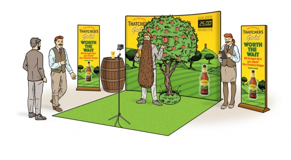 Thatchers - 'Worth the Wait' Experiential Concept