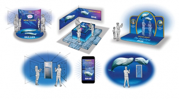 Sealife - Beluga Whale Relocation Experiential Concepts