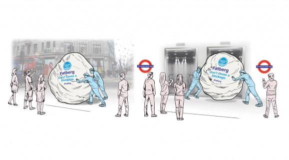 Thames Water - Fatberg Stunt Activity